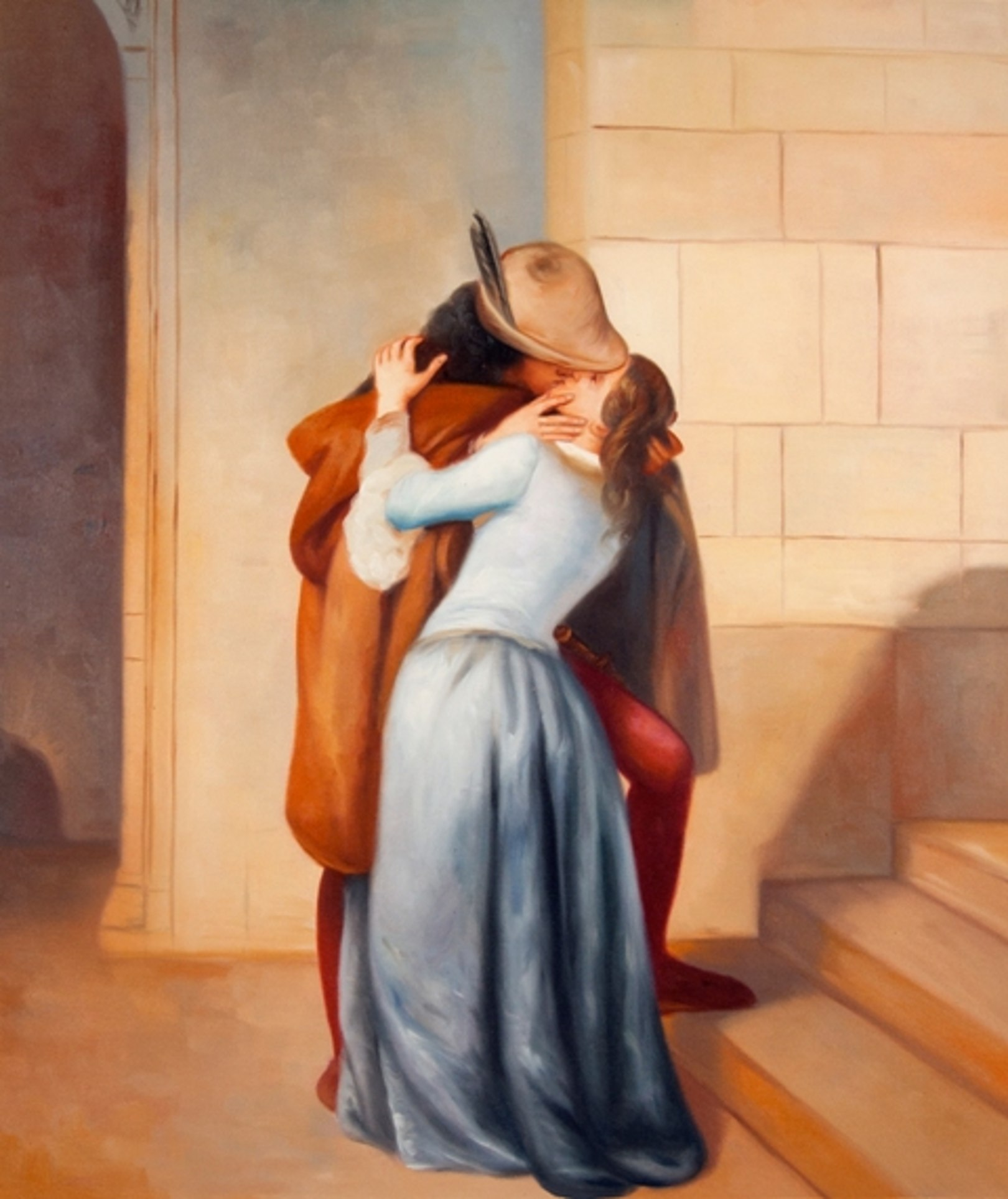Il Bacio Di Hayez Foto Powermall