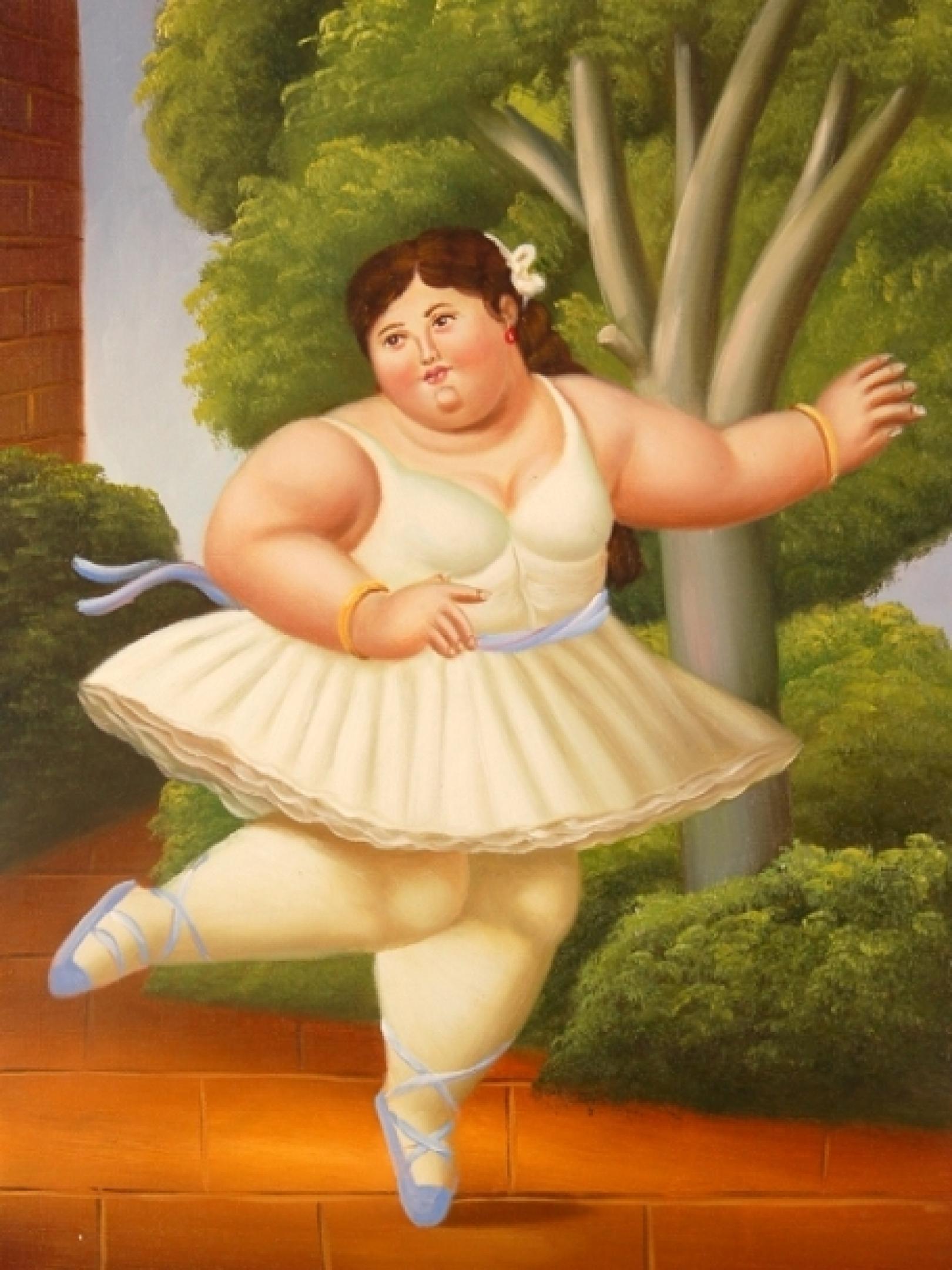 картинка толстуха у дороги - 14