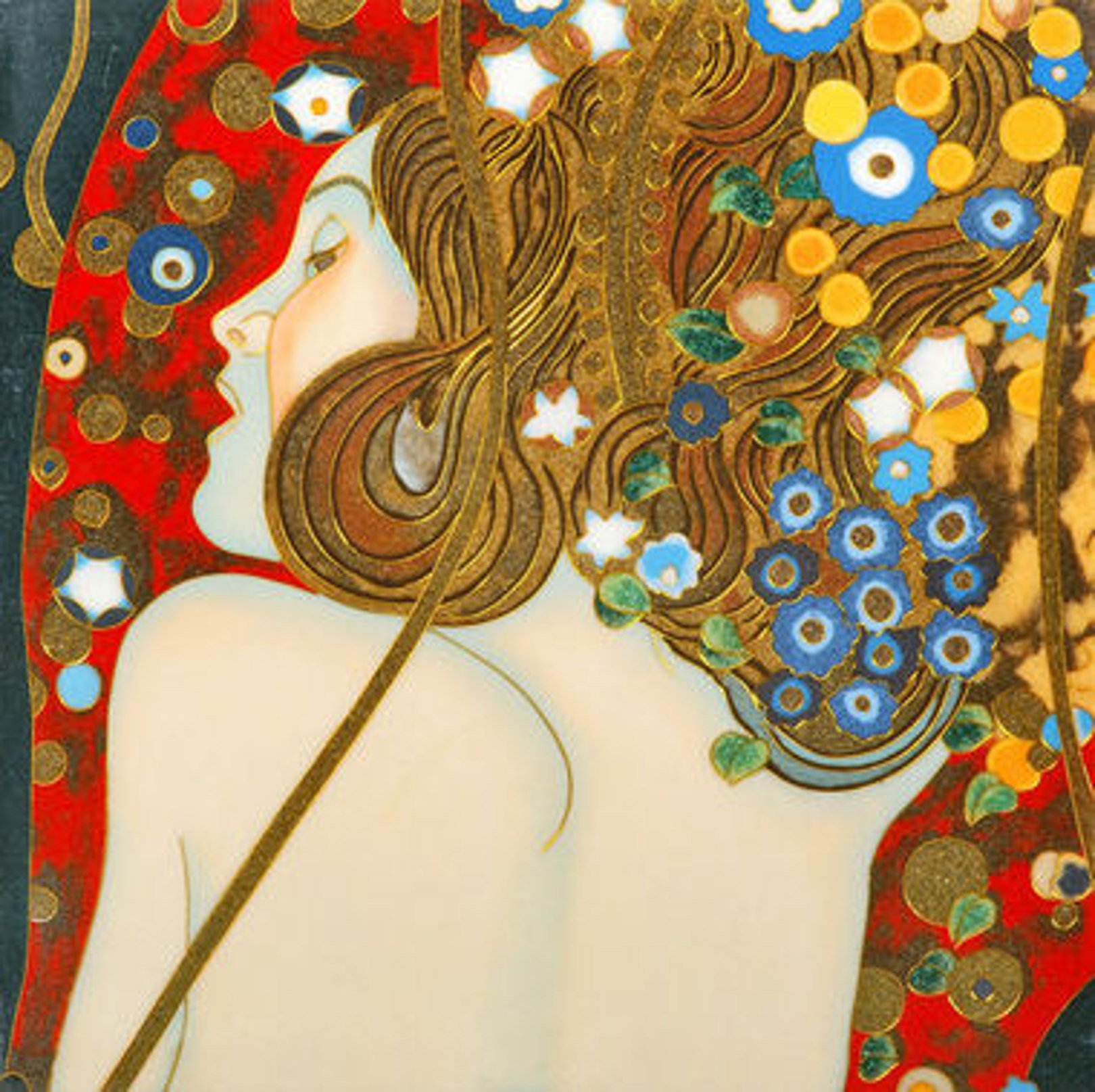 KLIMT Serpente d'Acqua