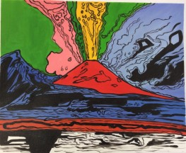 Il Vesuvio Pop Art