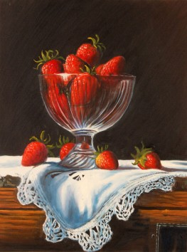 Fragole in vaso