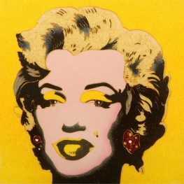 WARHOL    Marylin su Giallo