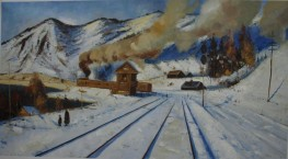 Nikolai Ulyanov - train ash gone by