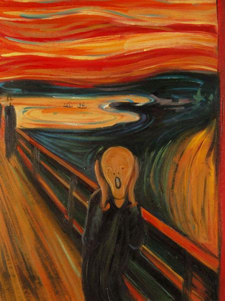 Vendita falsi d\'autore di Munch, le opere pittoriche di Munch.
