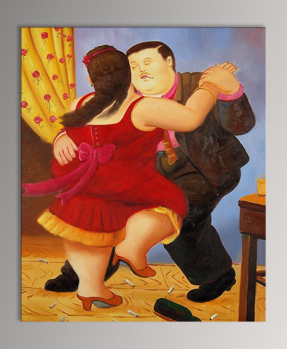 falso di autore Coppia che balla di Botero in vendita.