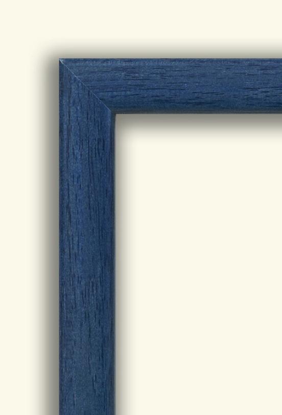 marco adm Marco Mate casete azul, venta marcos para cuadros.