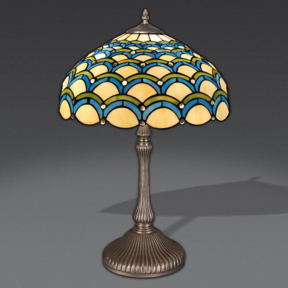 Lampada stile tiffany lampada da tavolo con archi lampada stile tiffany in vendita - Tavolo da falegname vendita ...