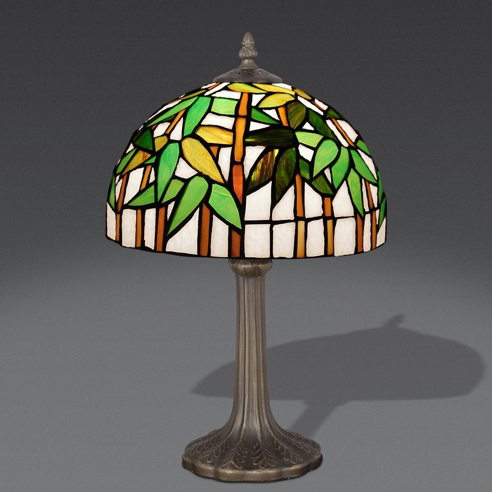 Falso di autore abat jour bamboo di sconosciuto in vendita for Lampade per comodini moderne