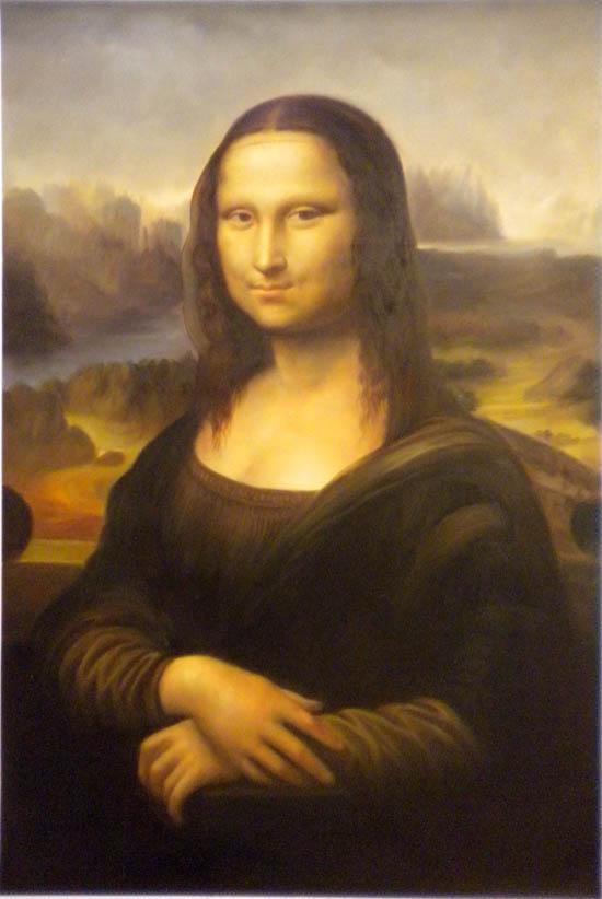 falso di autore Gioconda ALTA QUALITA\' di Da Vinci in vendita.