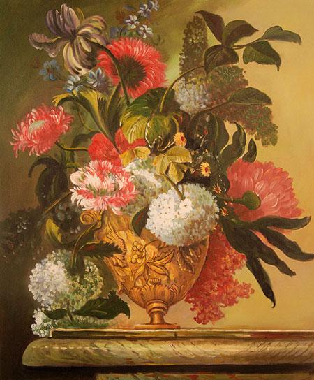 falso di autore Vaso di fiori di sconosciuto in vendita.