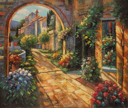 Falso Di Autore Giardino Segreto Di Impressionisti In Vendita