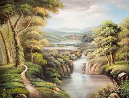 Opere di autore ignoto, soggetto con paesaggi - vendita copie di ...