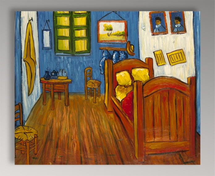 Camera da letto ad Arles von , Gemälde Reproduktion von .