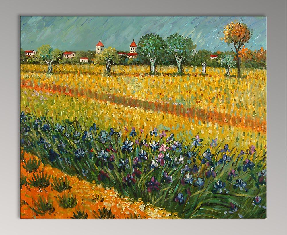falso di autore Campo di fiori di Van Gogh in vendita.