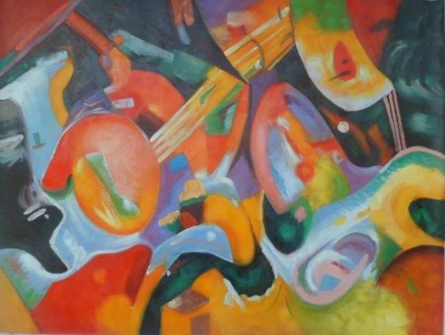 falso di autore alluvione improvvisa di Kandinsky in vendita.