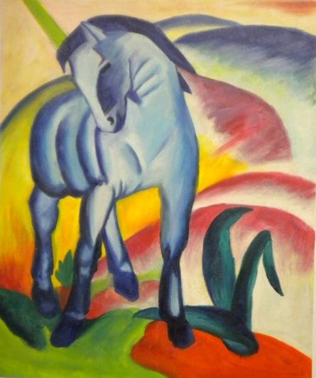 falso di autore Cavallo di Marc in vendita.