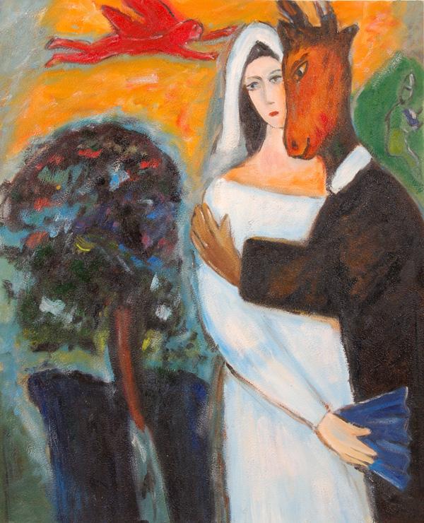 Vendita falsi d\'autore di Chagall, le opere pittoriche di Chagall.