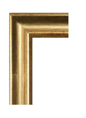 Cornice cornice classica rovesciata oro la cornice per il for Vendita cornici per quadri