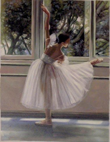 Falso di autore ballerina 1 30x40 di sconosciuto in vendita for Ballerine disegnate