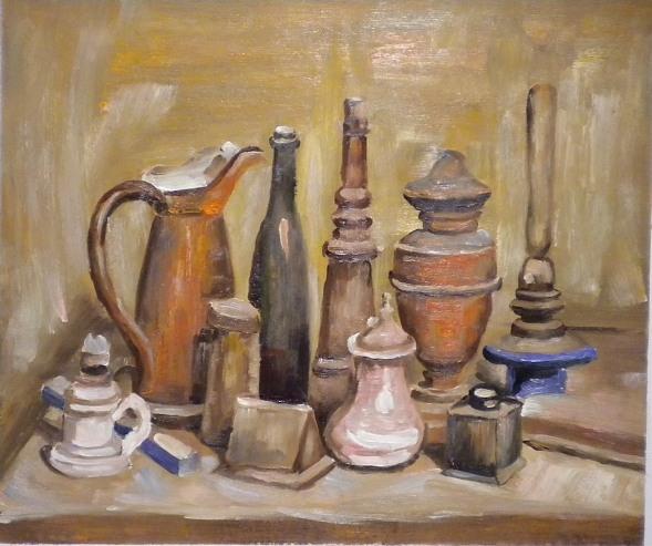 Vendita falsi d\'autore di Morandi, le opere pittoriche di Morandi.