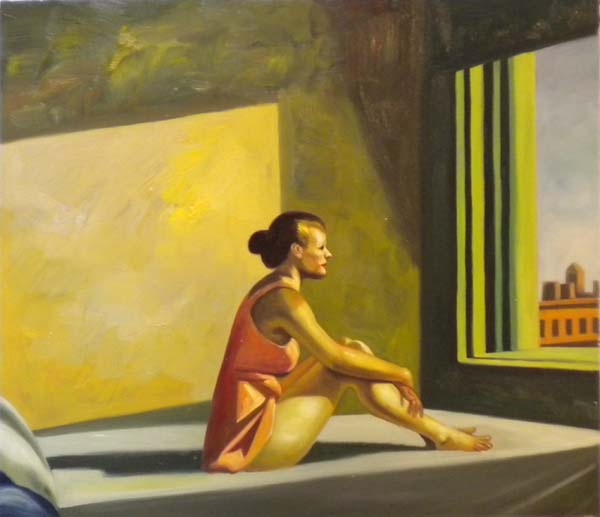 Vendita falso d'autore Morning sun di Hopper