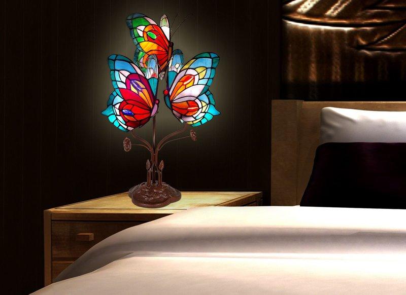 Farfalle lampade tiffany 351.00u20ac.
