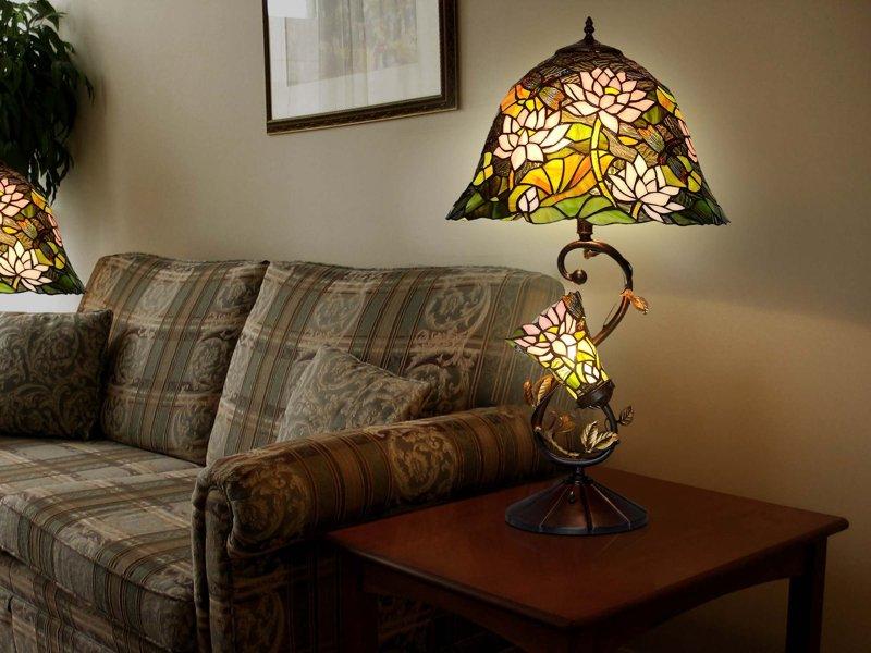 Lampada da tavolo floreale lampade tiffany 731.00u20ac.