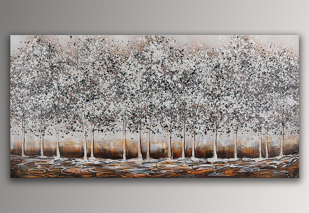Falso di autore bosco argento di paolo rossini in vendita for Quadri in argento
