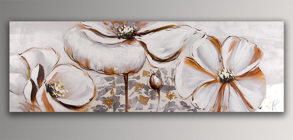 Falso di autore fiori bianchi di paolo rossini in vendita for Quadri di fiori